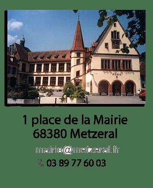 Toutes les informations sur la Mairie de Metzeral
